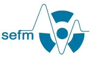Logotipo de la Sociedad Española de Física Médica