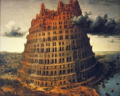 'La pequeña torre' (1565) de Peter Bruegel