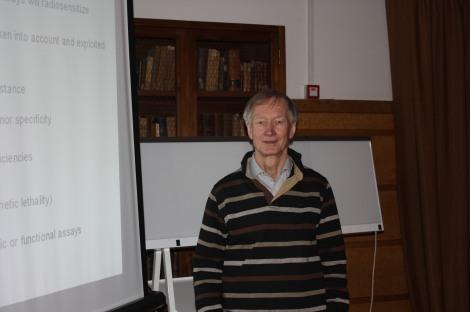 Adrian Begg en Granada. Fotografía de Maribel Núñez, 2011.