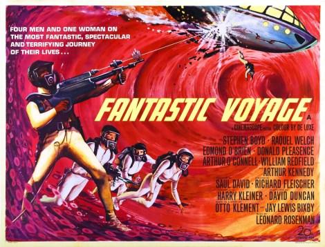 Fantastic voyage. Poster