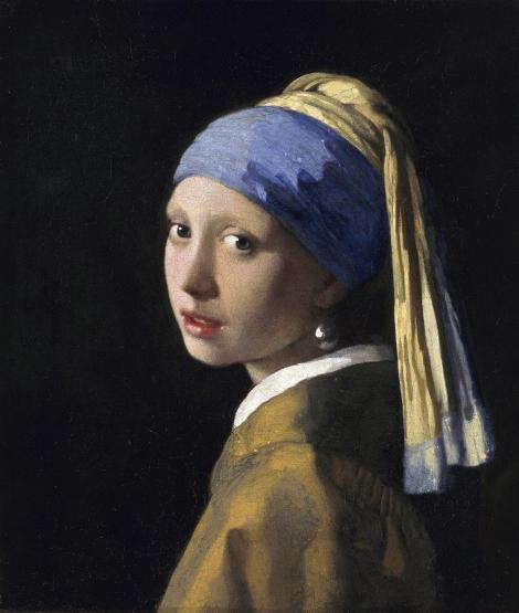 La joven de la perla (Johannes Vermeer, 1665)