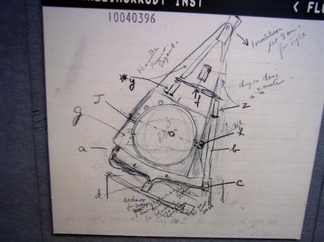 Esquema del prototipo de Hounsfield