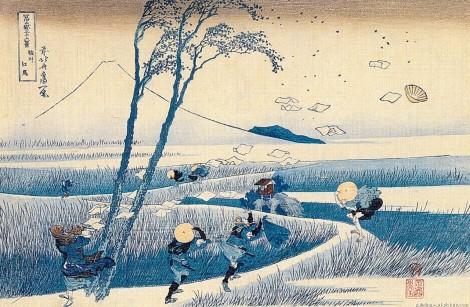 Katsushika Hokusai Art Ukiyo-e woodblock printing 99