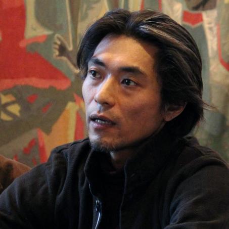 El músico, convertido en activista antinuclear por la catástrofe de Fukushima, Wataru Iwata