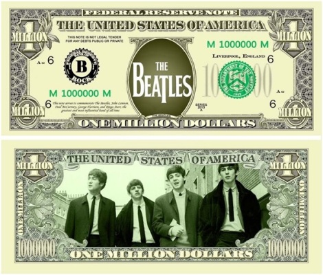 Billete Beatles