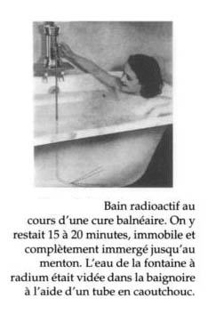Baños radiactivos