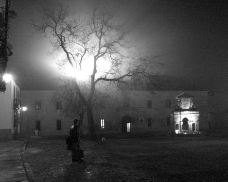 El exorcista en Baeza.