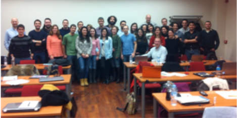 Alumnos y profesores del Módulo 2 de la edición 2015.
