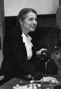 Lise Meitner en 1947
