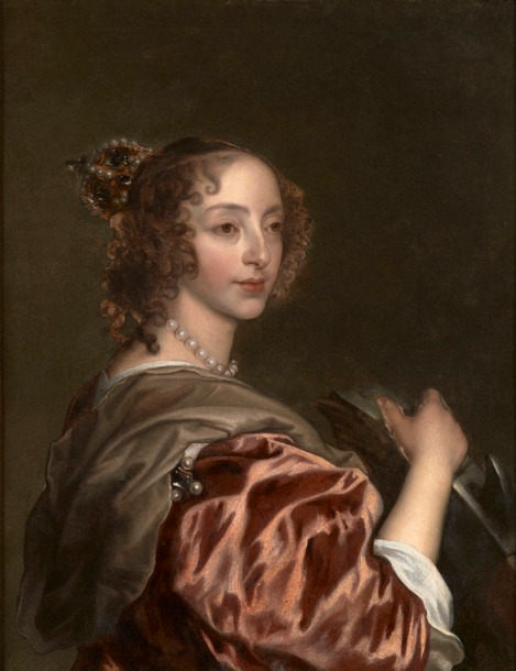 Henrietta Maria, tras más de mil horas de restauración y quinientos esforzados escalpelos.