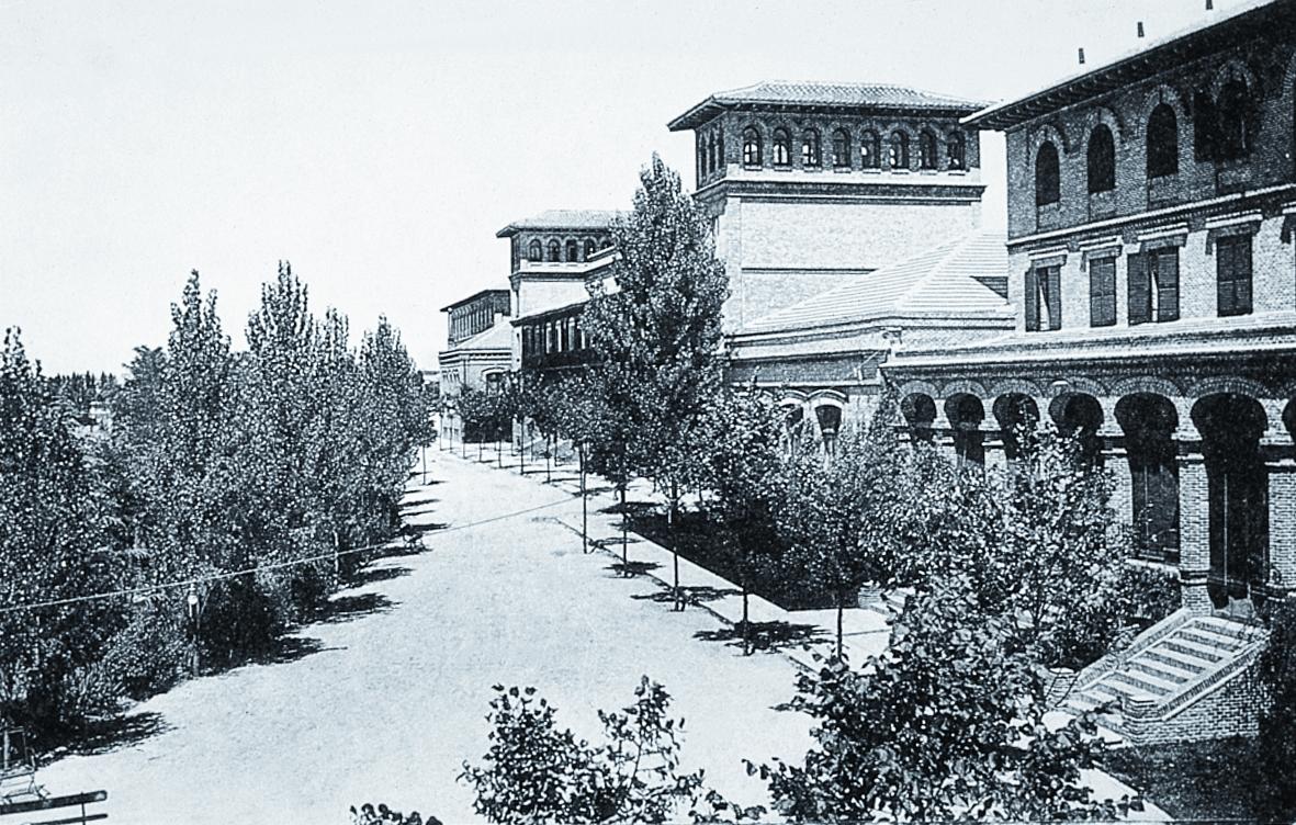 La f sica en la residencia de estudiantes de madrid for Residencia para estudiantes