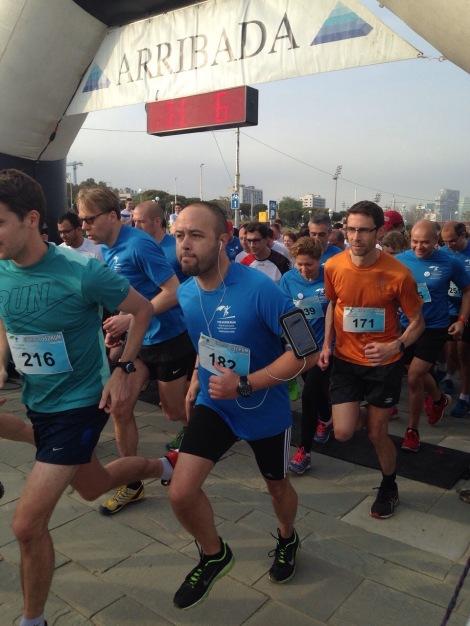 Super Run, participaron 300 corredores. Nuestro compañero Rafa García quedó el 23