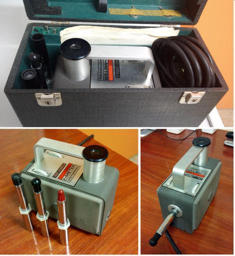 Electrómetro de hilo y cámaras de ionización de condensador para dosimetría en haces de radioterapia