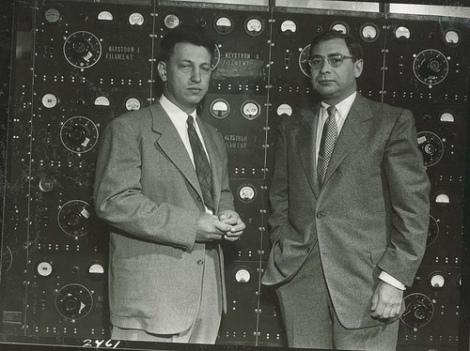 Henry Seymour Kaplan con Edward Leonard Ginzton