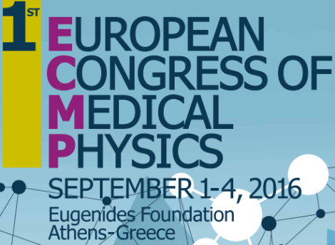Primer congreso europeo de física médica que se celebrará del 1 al 4 de septiembre