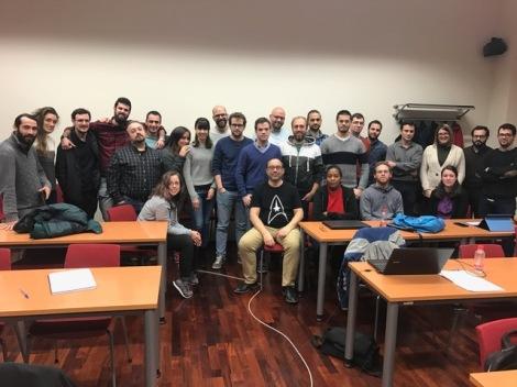 Alumnos y profesores del módulo de Radiodiagnóstico